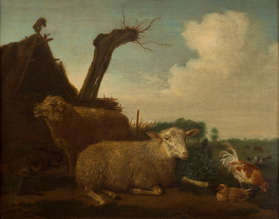 Adriaen van de Velde, Får og vædder, 1658