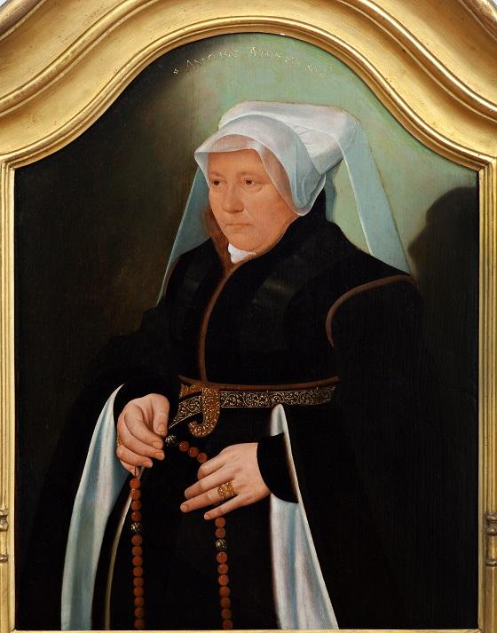 Bartholomæus Bruyn d.Y., Portræt af borgerkone, 1562
