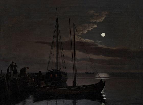 C.W. Eckersberg, Måneskinsbillede, 1821