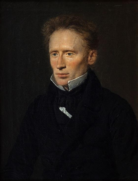 Christian Albrecht Jensen, Portræt af Johannes Dam Hage, redaktør ved Fædrelandet, 1837