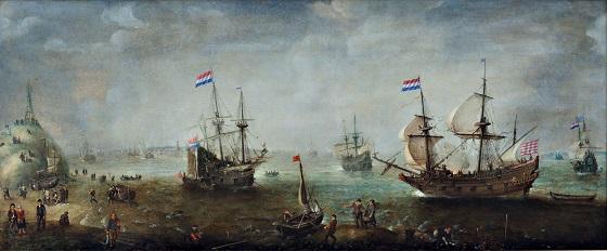 Cornelis Claesz van Wieringen, Marine, u.å.