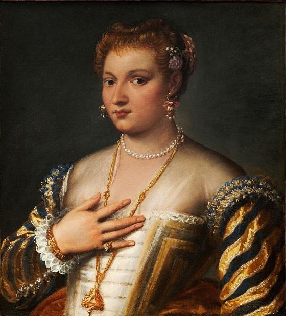 Francesco Montemezzano, Portræt af en ung venezianerinde, u.å.