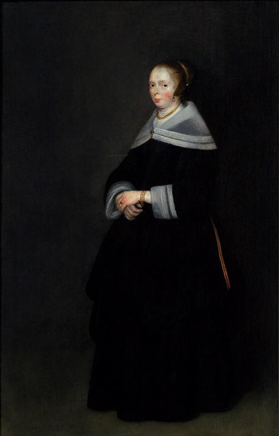 Gerard Ter Borch d. Y., Dameportræt, u.å.