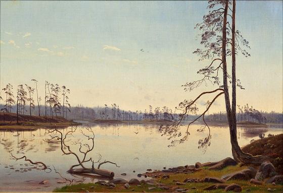 Harald Foss, Sommermorgen, 1873