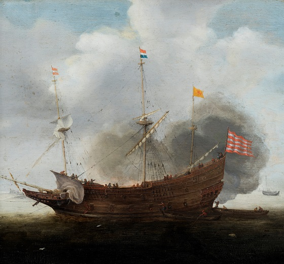 Hendricksz Cornelisz Vroom, Et orlogsskib, u.å.