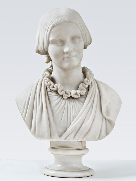 Herman Wilhelm Bissen, Buste af fru V. Heise, f. Hage, 20. november 1860