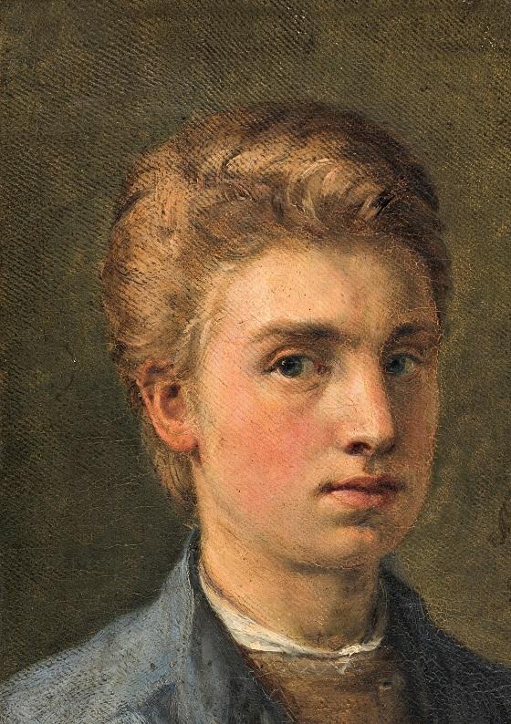 Holger Roed, Selvportræt, 1863