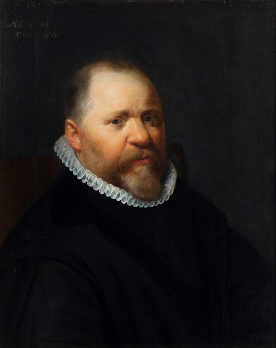 Jan Anthonisz van Ravesteyn, Mandsportræt, 1608