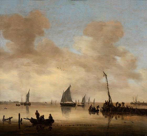 Jeronymus van Diest, Stille sø, u.å.