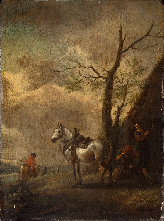 Philips Wouwerman, Hvilepladsen, u.å.