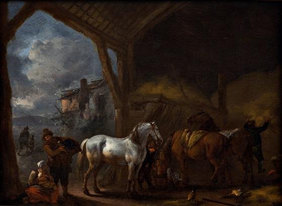 Philips Wouwerman, Rejsestalden, u.å.