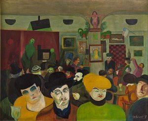 Storm P., Folkekabaret i Paris, 1916. Storm P. Museet