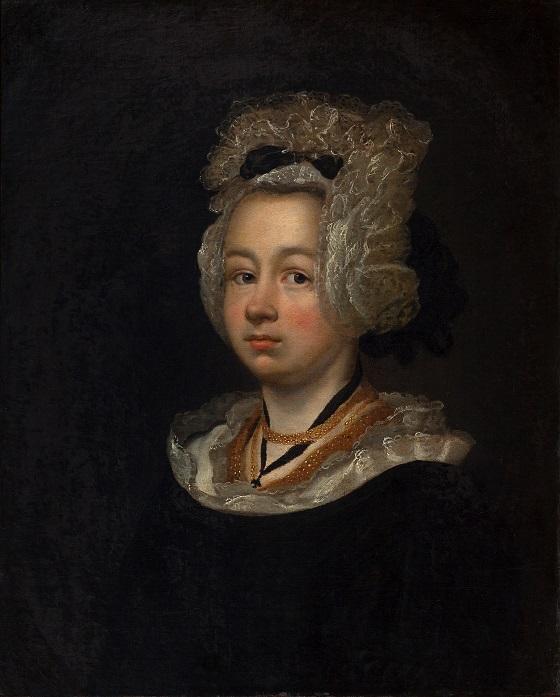 Ubekendt kunstner, Kvindeportræt, 1686-1700