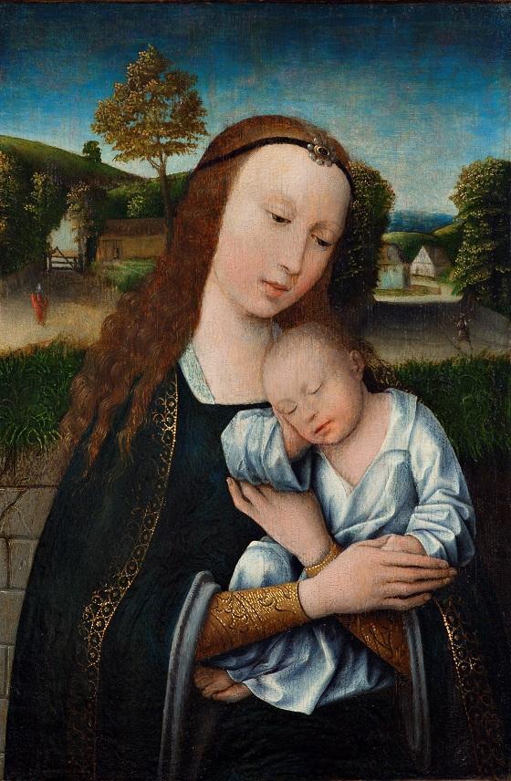 Ubekendt kunstner, Madonna med Barnet, ca. 1520