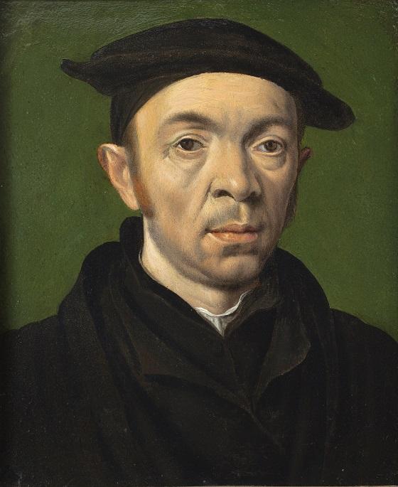 Ubekendt kunstner, Mandsportræt, ca. 1550