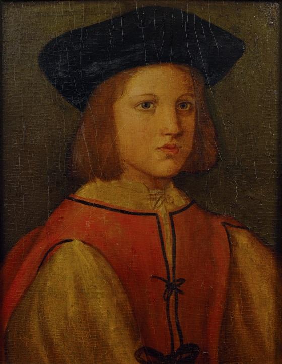 Ubekendt kunstner, Portræt af en halvvoksen dreng, 1500-tallet