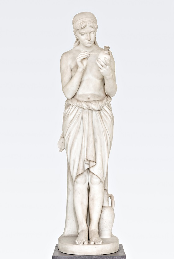 Vilhelm Bissen, Pottemalersken, 1883