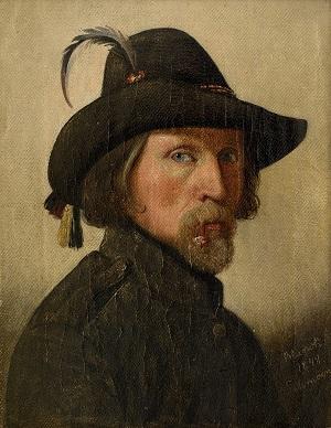 blunck-ditlev-selvportraet-1848_kalender