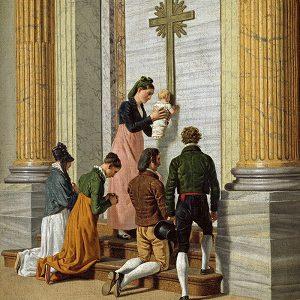 eckersberg-c-w-andagt-ved-den-hellige-port-i-peterskirken-ca-1814_kalender