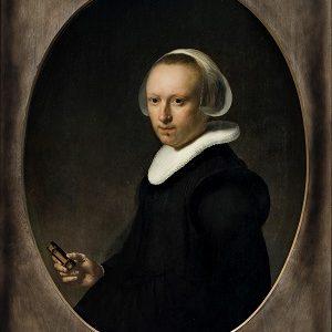 Kalender_Rembrandt Harmensz van Rijn - Portræt af en 39-årig kvinde, 1632 0047NMK
