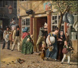 kalender_Marstrand, Wilhelm - En flyttedagsscene, 1831 0094NMK
