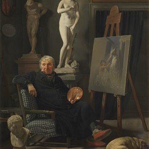kalender_Rørbye, Martinus - Portræt af maleren C. A. Lorentzen, 1827 0218NMK