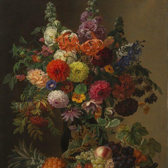 En duft af evighed. Blomstermaleren J.L. Jensen_udstillinger