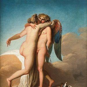 Kalender_4.9. Abildgaard, Nicolai - Amor og Psyche favner hinanden, u.å. 0183NMK