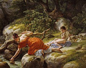 Kalender_Eckersberg, C.W. - Hagar og Ismael i ørkenen, 1812 0075NMK