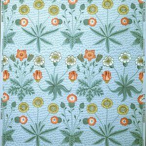 Kalender_William Morris, Daisy (Marguerit), design registreret i 1862. Tapet. William Morris Gallery, London
