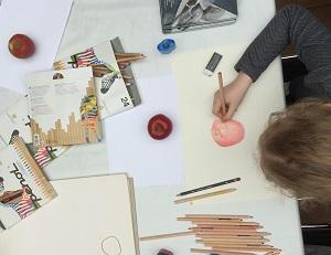 Rembrandts lærlinge – tegneundervisning for børn og unge