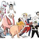 (Dansk) Særudstilling: Hvad der kan tænkes kan tegnes. Karikaturtegneren Jens Hage