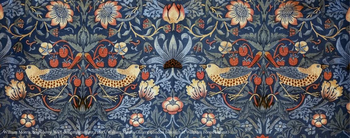 William Morris. Al magt til skønheden!
