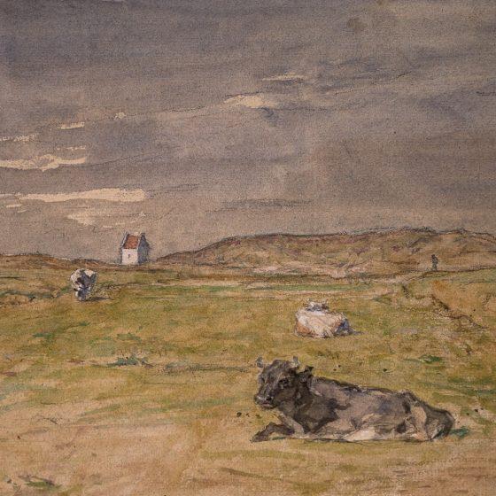 (Dansk) Viggo Johansens akvareller