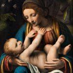 Bernardino Luini, Madonna med Kristusbarnet, 1515-1525